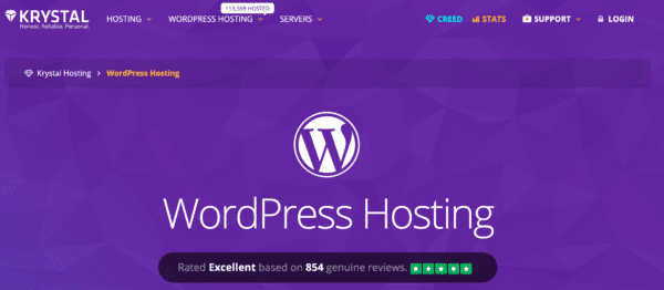 Krystal WordPress Hosting Review